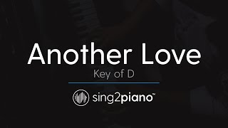 Another Love (Piano Karaoke Instrumental) Tom Odell