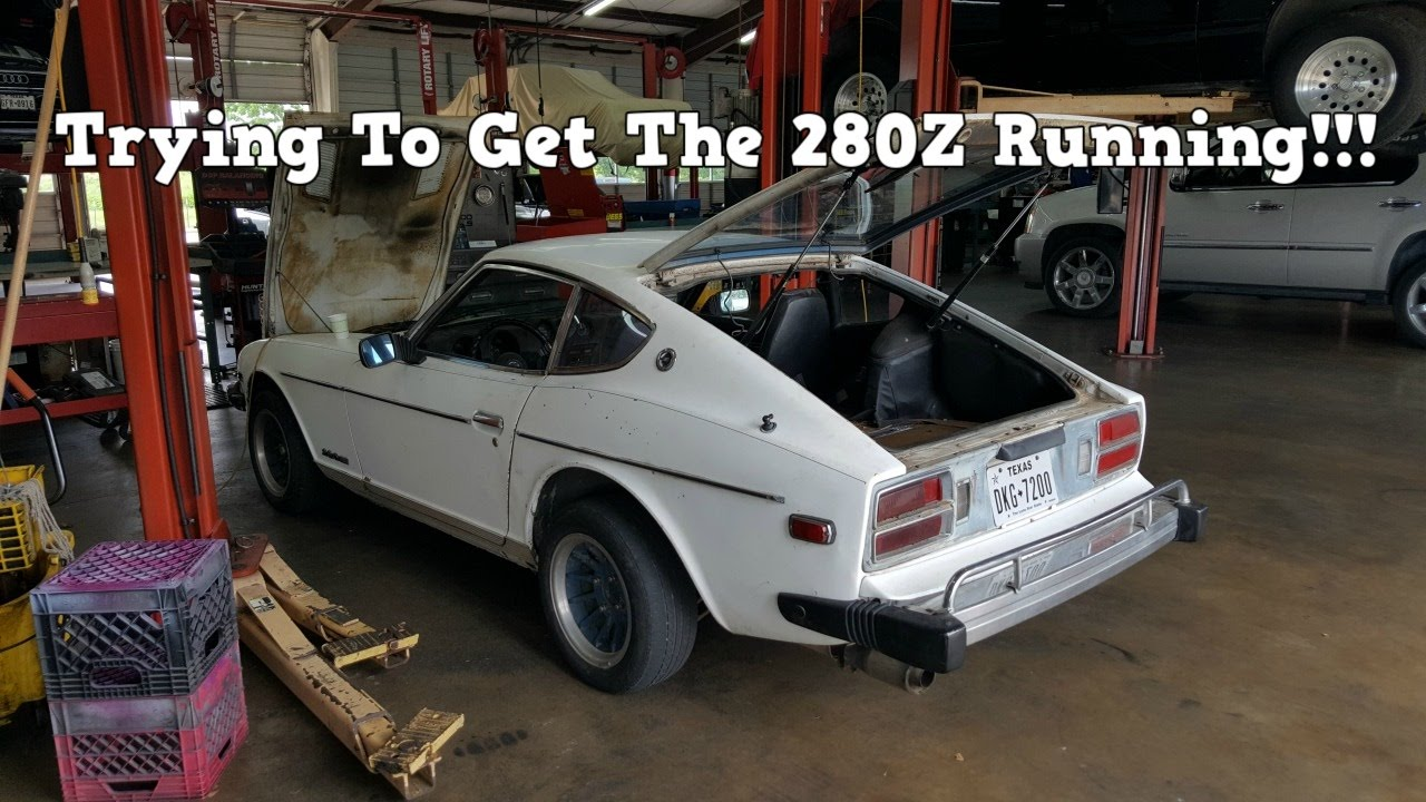Junk Datsun 280Z Project - Can We Get It Running??? Ep. 2 ...