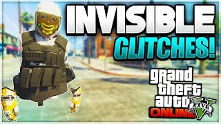 "GTA 5 Online *SOLO* ALL Invisible Body Glitches Working ""After Patch 1.45"" (GTA 5 Glitches)"