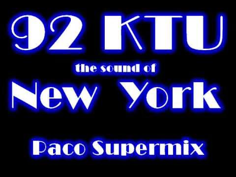 92 KTU NewYork Paco Supermix