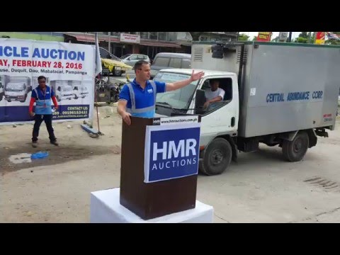 HMR Vehicle Auction