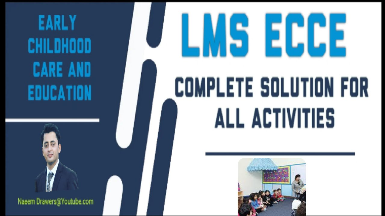 Download ECCE LMS || Complete Solution for Early Childhood Care and Education course