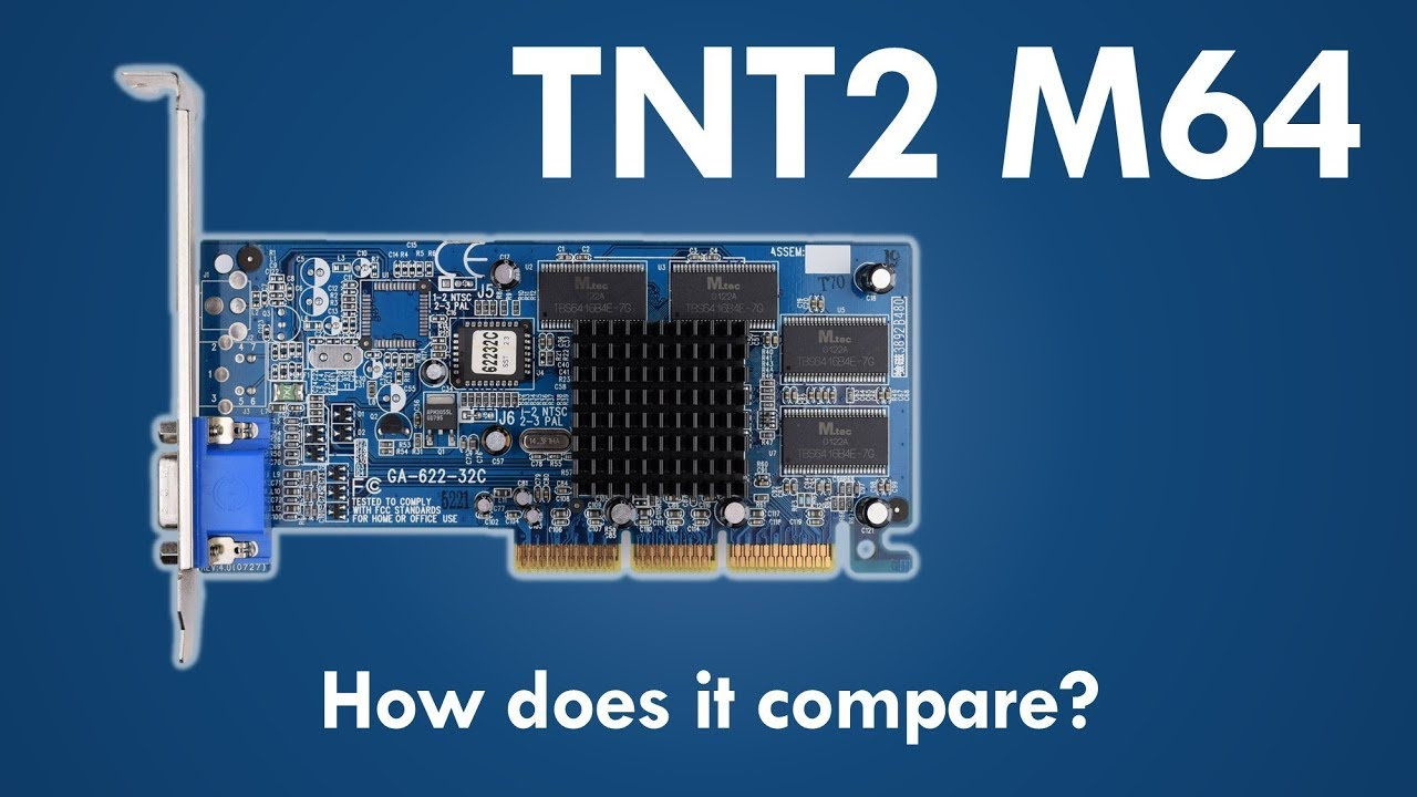GAINWARD TNT2 M64 DRIVER UPDATE