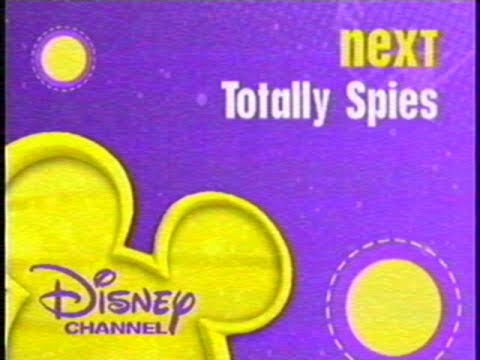 Download Totally Spies up next bumper on Disney Channel, June 2007 (totally real and rare, read desc.)