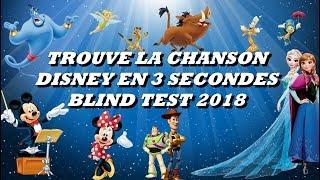 TROUVE LA CHANSON DISNEY EN 3 SECONDES (BLIND TEST)