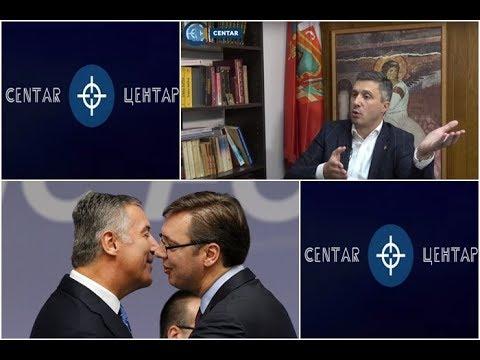 U CENTAR Boško Obradović: Vučić i Đukanović su mafijaši