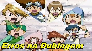 Digimon Adventure Erros de Dublagem (デジモンアドベンチャーtri)