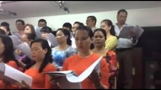 Lễ Dâng Ba Miền Ca Đoàn Truyền Tin