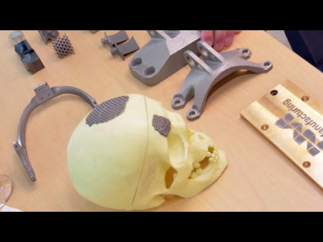 Hari Sreenivasan Interviews Jack Beuth About Metal 3D printing