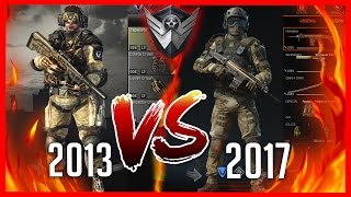 WARFACE 2013 VS 2017 - Especial de 4 anos!