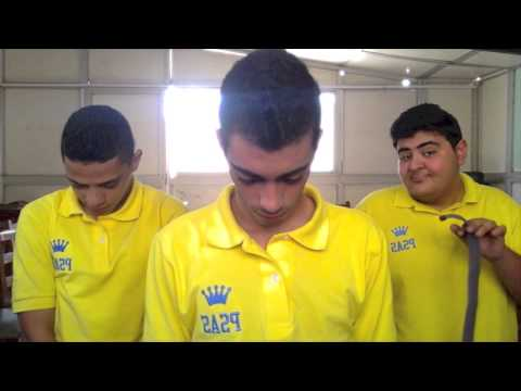 GR.12 students fun time with English projects(Port Said American School)