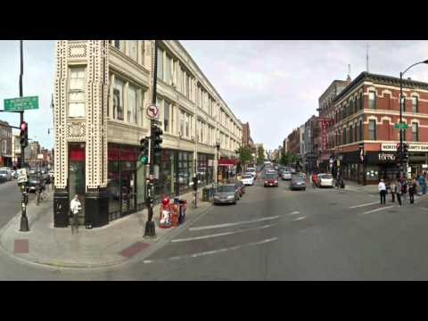 Chicago's Bucktown-Wicker Park Neighborhood Travel Loop