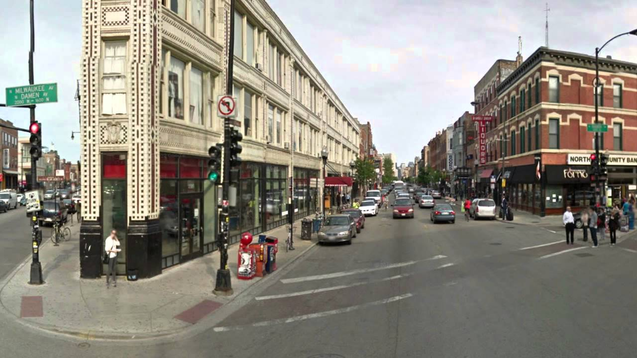 Image result for bucktown street chicago
