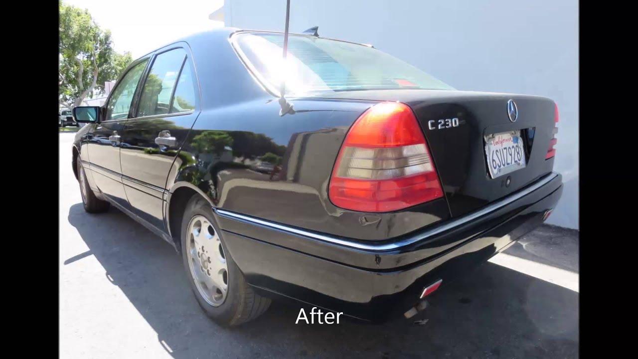 1997 mercedes benz c230 paint job