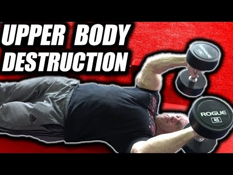Total Upper Body Destruction Workout for Speed & Power