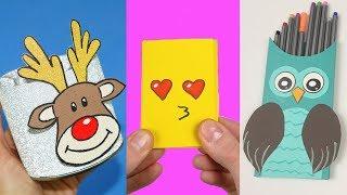 66 DIY School Supplies | Easy DIY Paper crafts ideas