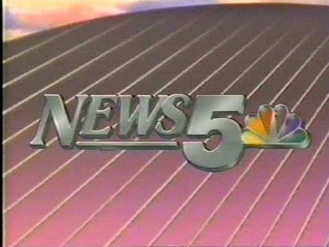 WLWT News 5 Tonight February 23 1987 with Control Room Audio