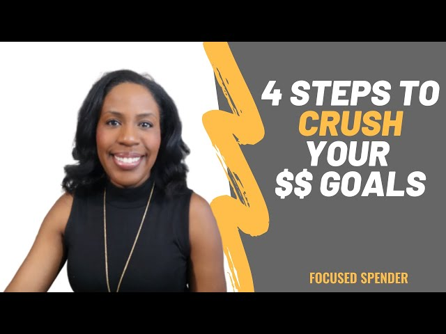 4 Steps to Crush Your 2020 Money Goals