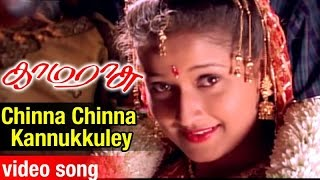 Chinna Chinna Kannukkuley Video Song | Kamarasu Tamil Movie | Murali | Laila | SA Rajkumar