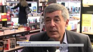 Politique : le député (LR) des Yvelines, Henri Guaino, en dédicace