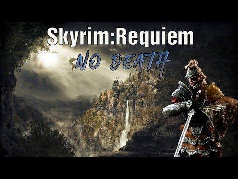 Skyrim Requiem (No Death) Имперец-Паладин: Бой с Тураном