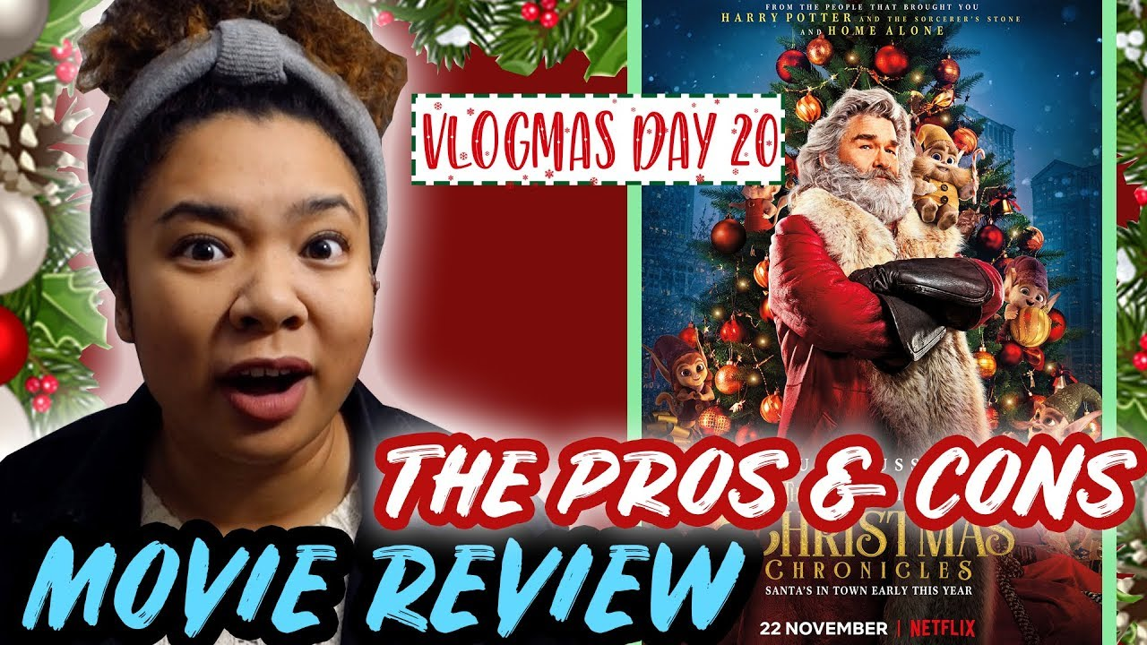 The Christmas Chronicles Poster.The Christmas Chronicles 2018 Movie Review Vlogmas 2018