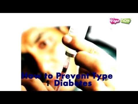 How to Prevent Type 1 Diabetes