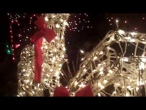 Casas decoradas en tiempo de navidad youtube - Casas decoradas en navidad ...