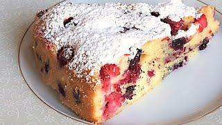 Пирог с Ягодами - Вкусно и Просто
