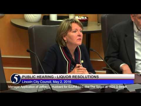 Lincoln City Council Council May 2, 2016