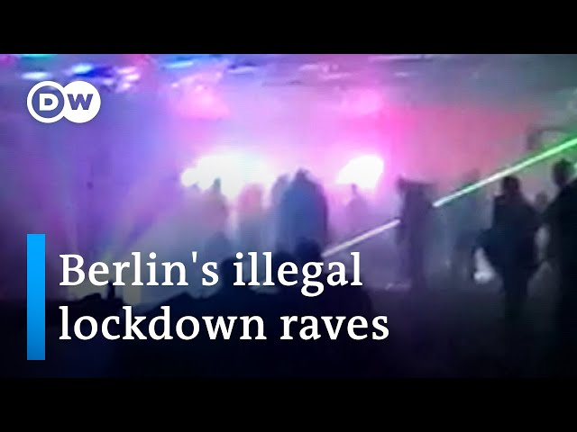 Lockdown raves: How Berlin's illegal techno raves thrive during the pandemic | DW News