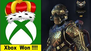 Xbox One beats the Crap out of PS4 on Black Friday.Call of Duty: Advanced Warfare Grand Master Armor