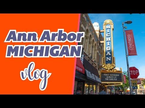 Ann Arbor, Michigan Travel Vlog
