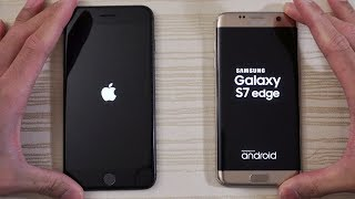 iPhone 8 Plus vs S7 Edge - Speed Test! (4K)