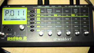 Waldorf Pulse 2 - first soundcheck - HQ Audio
