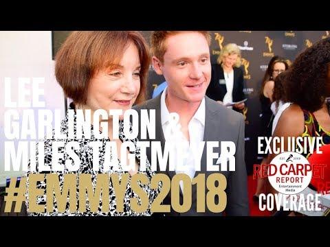 Lee Garlington & Miles Tagtmeyer ed at Performer Peer Group Emmy Awards Celebration Emmys