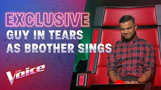 The Blind Auditions: Guy Sebastian Tears Up Watching His Brother