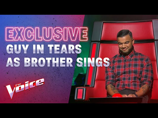 The Blind Auditions: Guy Sebastian Tears Up Watching His Brother | The Voice Australia 2020