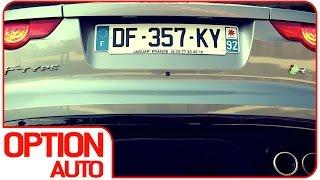 exhaust sound cold start jaguar f type r coup option auto
