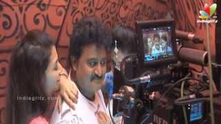 Namo Bhootatma Movie Making On Shoot | Komal Kumar, Iswarya Menon | Latest Kannada Movie