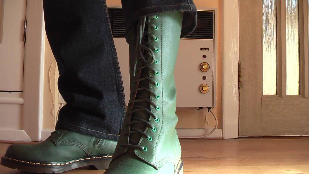 Dr Martens Yamamoto 14 Hole Boots 1 Youtube