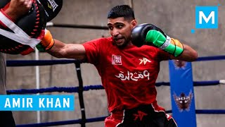 Amir Khan Conditioning Training for Boxing | Muscle Madness
