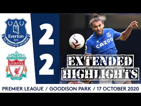 EXTENDED HIGHLIGHTS: EVERTON 2-2 LIVERPOOL
