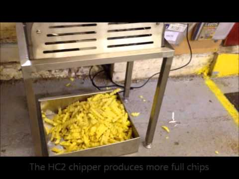 Hopkins HC2 Crinkle Cut Chip Chipper For Fish And Chip Shops And Takeaways