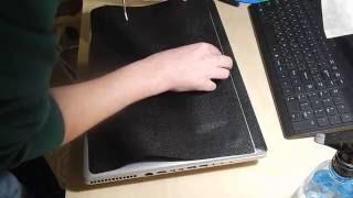 Оклейка декоративной (рептилия) пленкой ноутбук MSI(, 2016-12-01T18:14:12.000Z)