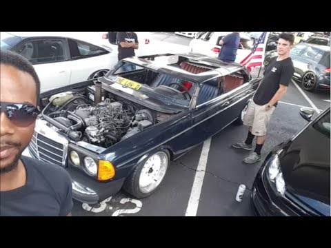 Preview: Chopped Roof 300d Mercedes