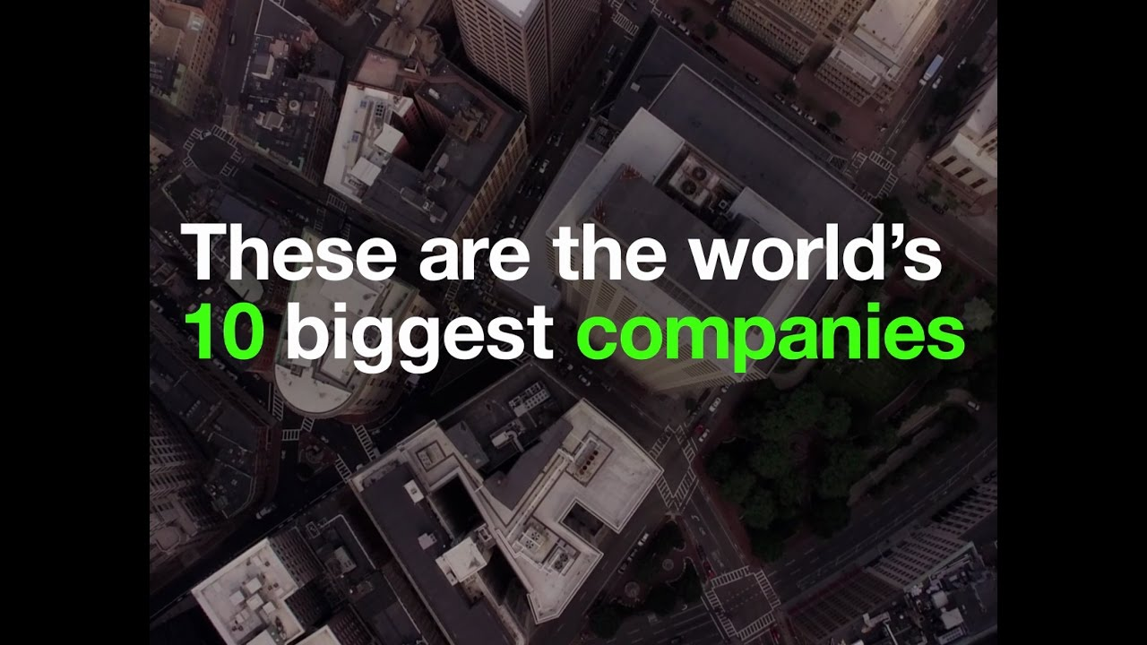 These are the world's 10 biggest corporate giants | World Economic Forum