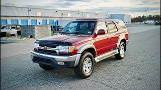 Davis AutoSports 2001 Toyota 4Runner For Sale / Super Clean / New Michelins