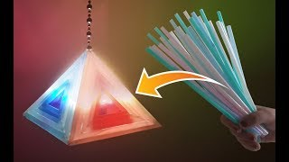 Super Easy Drinking Straw Lantern You will Surely Love Making for Diwali & Christmas!