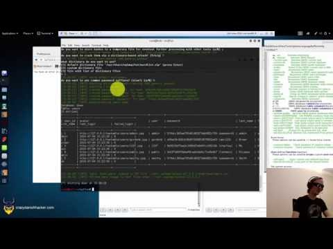 DVWA - SQL Injection & Cracking Passwords!